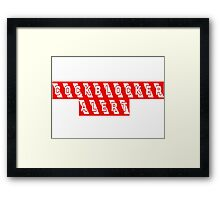 Funny Cool Party Gift Framed Print