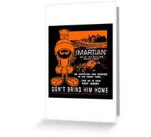 MM Martian Greeting Card