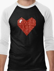 pixel valentines day heart T-Shirt