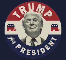 Trump Shirt - Donald Trump For President 2016 T Shirt One Piece - Long Sleeve