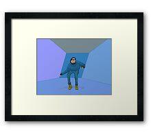 Slothline Bling Framed Print