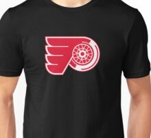 Flyers - Red Wings Logo Mashup Unisex T-Shirt