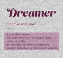 Definition of a Dreamer One Piece - Short Sleeve