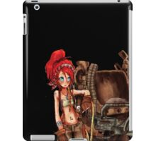 Steampunk girl with Amplified Mobility Platform iPad Case/Skin