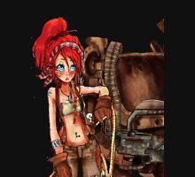 Steampunk girl with Amplified Mobility Platform Unisex T-Shirt