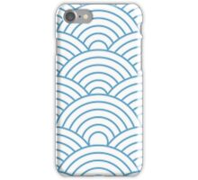 Blue and White Pattern iPhone Case/Skin