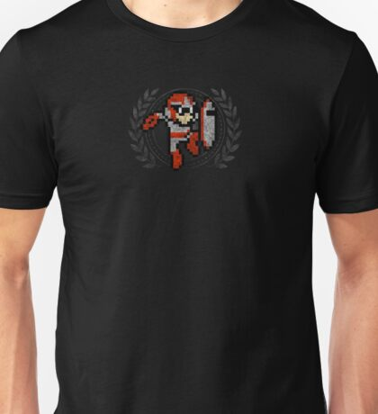 Proto Man - Sprite Badge Unisex T-Shirt