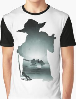 Yoda Silhouette Graphic T-Shirt
