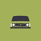 Volvo 240 (Lime) by Ivan Krpan