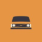 Volvo 240 (Orange) by Ivan Krpan