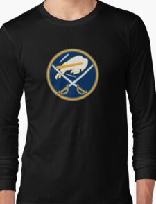 Sabres - Bills Logo Mashup Long Sleeve T-Shirt
