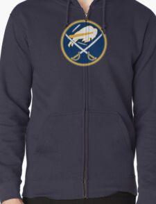 Sabres - Bills Logo Mashup Zipped Hoodie