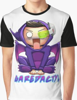 Garedactyl Scared Scouter Graphic T-Shirt