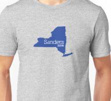 Bernie Sanders 2016 State Pride - New York Unisex T-Shirt