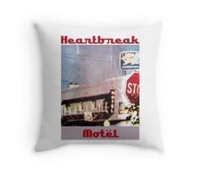 Heartbreak Motel Throw Pillow