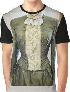 Ladies Victorian Costume Graphic T-Shirt