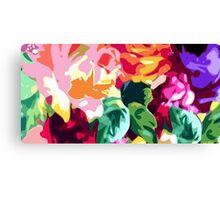 Eye Candy Floral Canvas Print