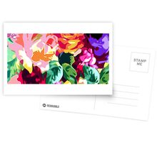 Eye Candy Floral Postcards