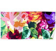 Eye Candy Floral Poster