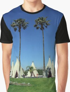 Route 66 - Wigwam Motel Graphic T-Shirt