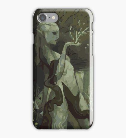 Female Elf Tarot Card iPhone Case/Skin