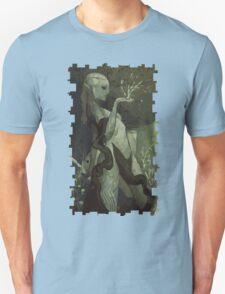 Female Elf Tarot Card T-Shirt