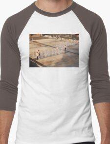 Water Fun Men's Baseball ¾ T-Shirt