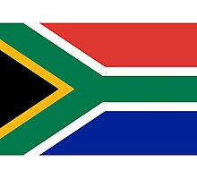 South Africa Flag - African Rugby Springboks, Sticker Duvet Bedspread T-Shirt Photographic Print