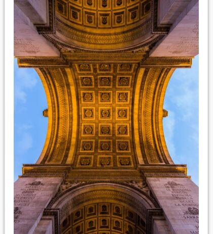 Arc De Triomphe 4 Sticker