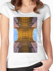 Arc De Triomphe 4 Women's Fitted Scoop T-Shirt