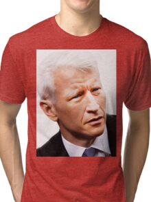 Andy Coops [ Anderson Cooper ] Tri-blend T-Shirt