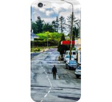 A Man And His Dog - Sneem, Ireland iPhone Case/Skin