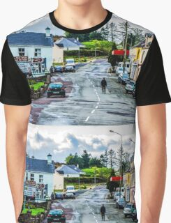 A Man And His Dog - Sneem, Ireland Graphic T-Shirt