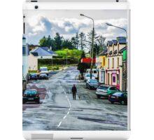 A Man And His Dog - Sneem, Ireland iPad Case/Skin