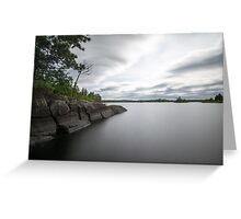 Nature Photography Lake Landscape Greeting Card