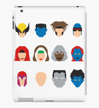 Xmen Icons iPad Case/Skin
