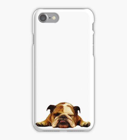 English Bulldog - Lazy Beast iPhone Case/Skin