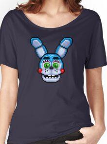 Adventure Toy Bonnie - FNAF World - Pixel Art Women's Relaxed Fit T-Shirt