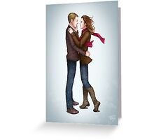 Fitzsimmons - Winter Fluff Greeting Card