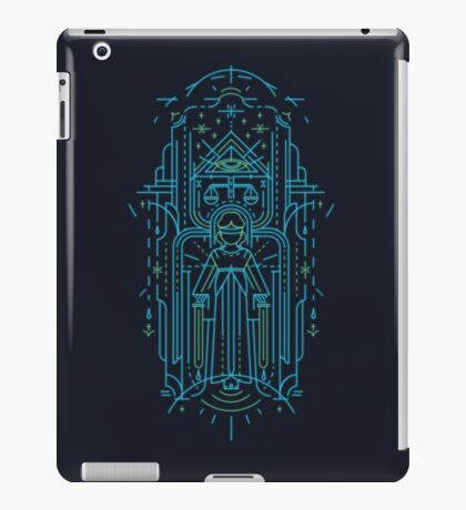 Justitia (Lady Justice) iPad Case/Skin