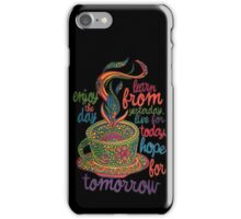 Inspirational Coffee iPhone Case/Skin
