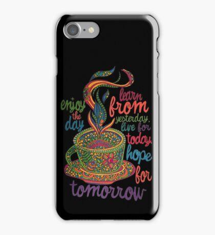 Inspirational Coffee iPhone Case/Skin