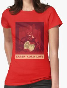 Earth Koko Love Womens Fitted T-Shirt