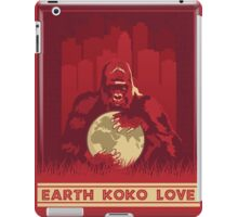 Earth Koko Love iPad Case/Skin