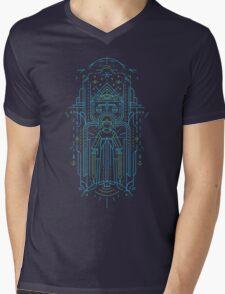 Justitia (Lady Justice) Mens V-Neck T-Shirt