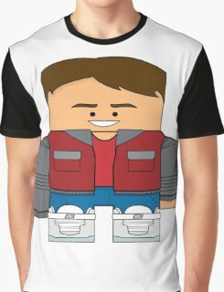 Back to the Future - Marty McFly (Future) Graphic T-Shirt