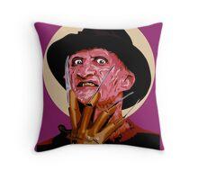 Freddy Krueger - A Nightmare on Elm Street Throw Pillow