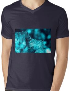 Aqua Ice Mens V-Neck T-Shirt