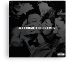Logic - Welcome to Forever Canvas Print