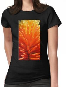 Hot Poker Up Close Womens Fitted T-Shirt